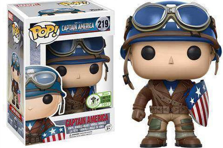 FUNKO  pop CAPTAIN AMERICA Model Figure Collectible Model Toy for gift