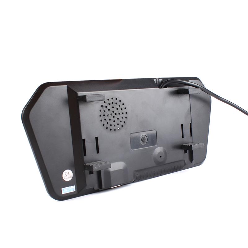 "800x480 7"" LED Car Rearview Mirror MP5 Monitor for Car Camera VCR PAL/NTSC"