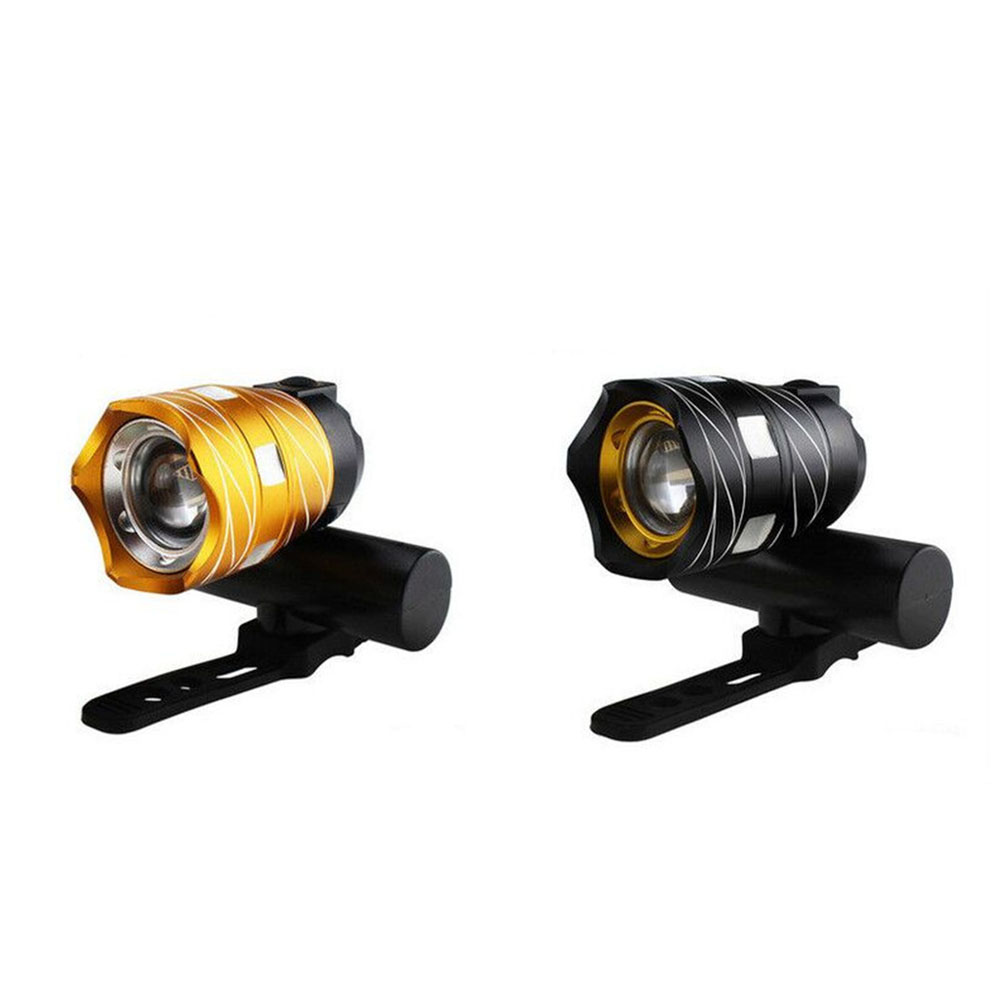 Adjustable T6 Bicycle Headlights USB Rechargeable Waterproof Torch MTB Bike Lamp Headlamp Cycling Equipment