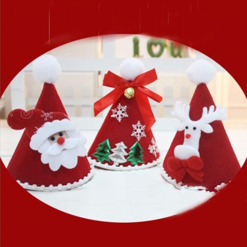 TURKEY ELF REINDEER TREE SANTA HAT CHRISTMAS PARTY FANCY DRESS COSTUME ACCESSORY