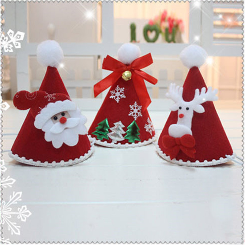 NEW TURKEY ELF REINDEER TREE SANTA HAT CHRISTMAS PARTY FANCY DRESS