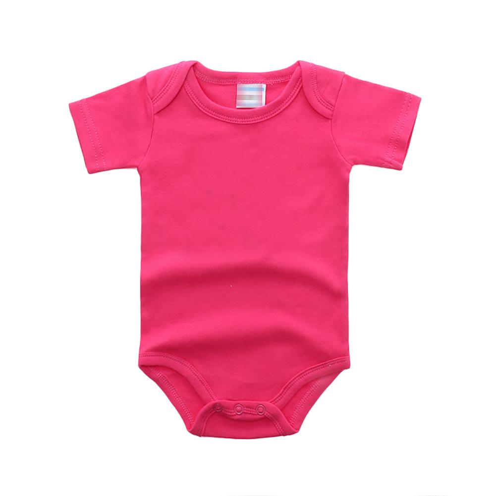 7 Colors Unisex Solid Baby 3-Pack Short-Sleeve Bodysuit 0-24 Months playsuit jumpsuit children clothes