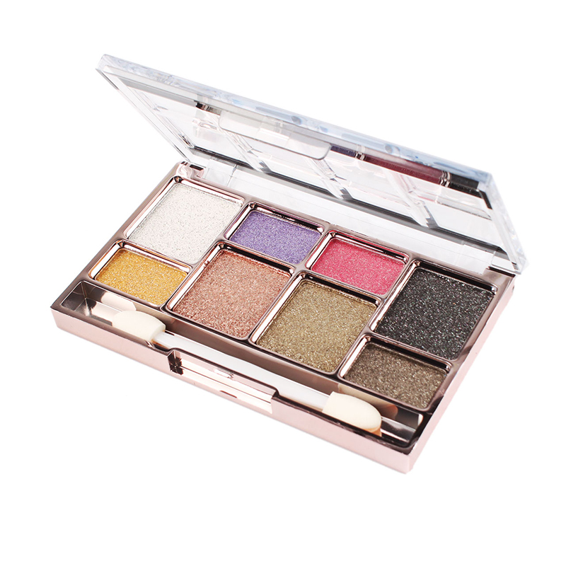8 Colors Women Diamond Eyeshadow Palette Set Super Glitter Makeup Cosmetics