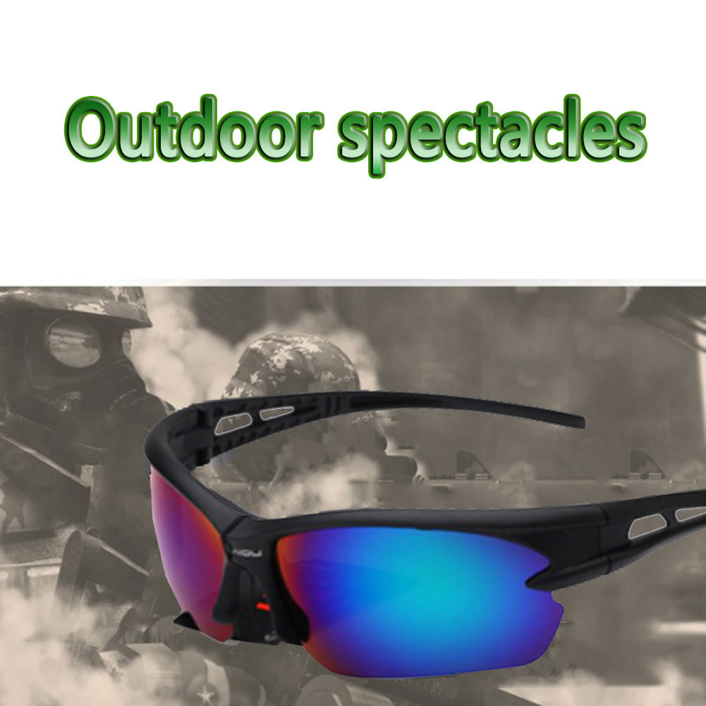 2017 New Men Sport Sunglasses Cycling Glasses Bicycle Bike Fishing Driving Sun Glasses for Man Women