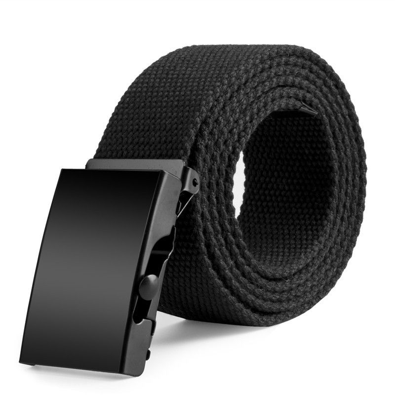Men's Outdoor Sports Nylon Waistband Canvas Web Belt Dazzling Men Belt Casual Luxury Buckle Belts For Men