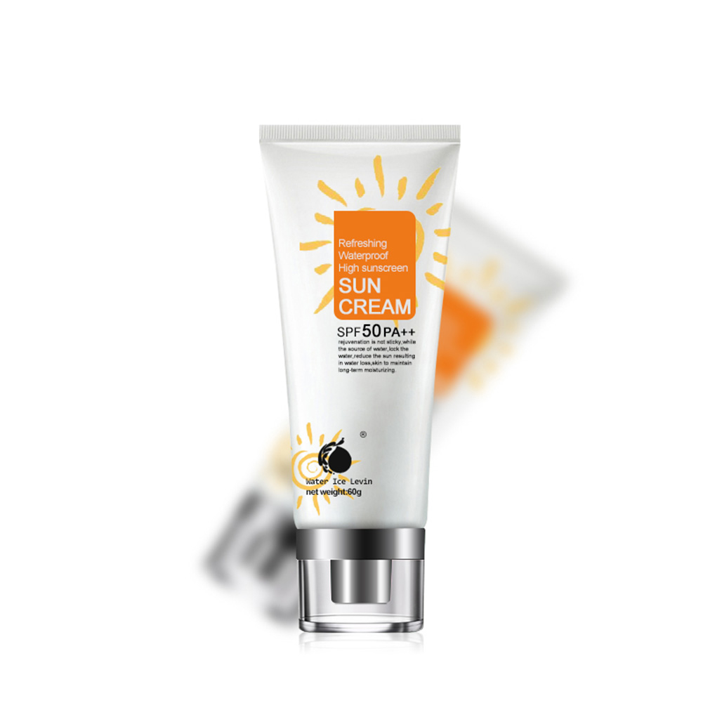 60g Beauty Facial Sun Lotion SPF 50 PA++ Isolation UV Radiation Sunblock Body Sunscreen Creams Concealer Whitening Remove