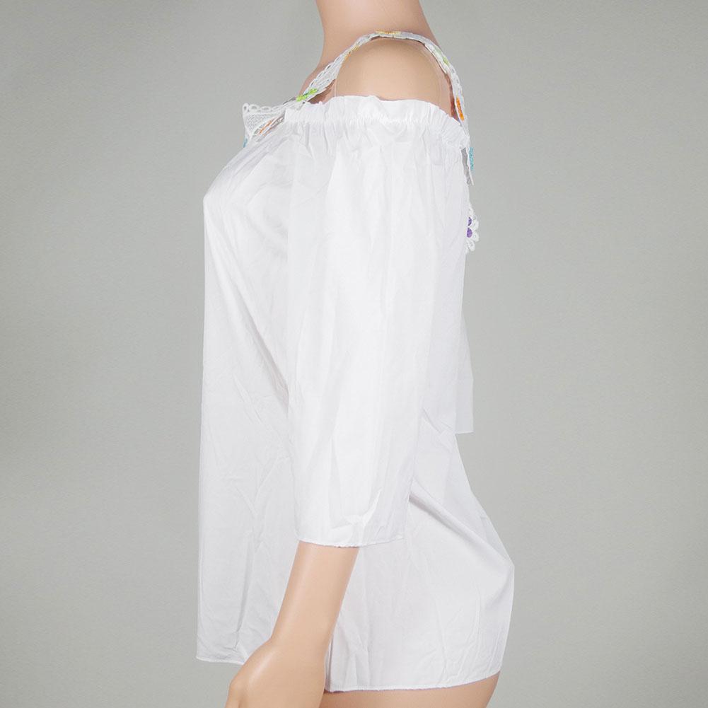 Fashion Women's Short Sleeve Shirt Loose Casual Blouse Tops Summer T-Shirt
