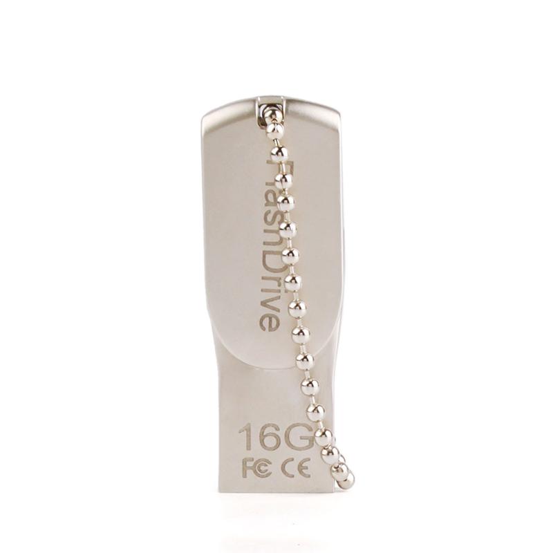 Metal OTG USB Flash Drive for IOS iPhone / iPad 16GB Memory Stick