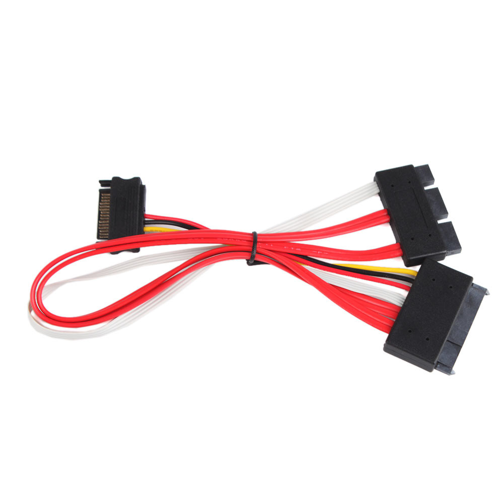 SFF-8639 SATA 3.2 Express 18pin (7+7+4) & 15Pin Power to SFF-8482 SAS Express 29pin Data Raid Cable