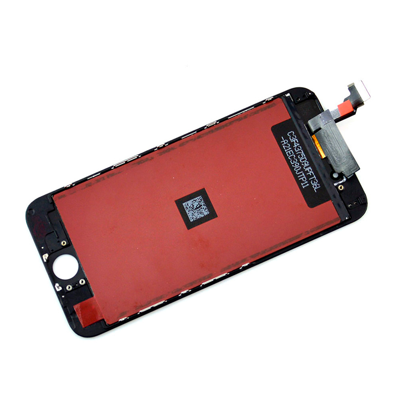 Black LCD Display Touch Digitizer Screen Assembly Replacement for iPhone 6 4.7 inch