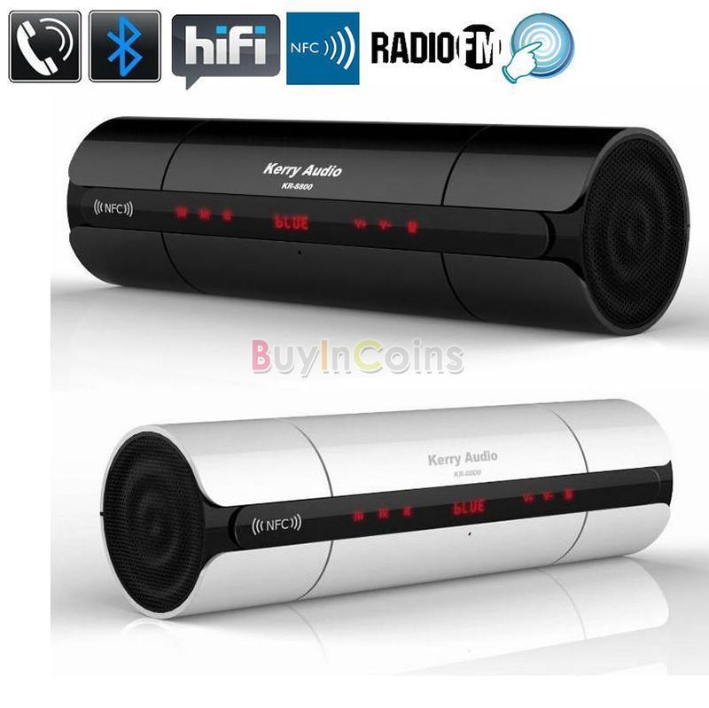 NFC HIFI Bluetooth Speaker Wireless Stereo Portable Boombox Super Bass TF /USB