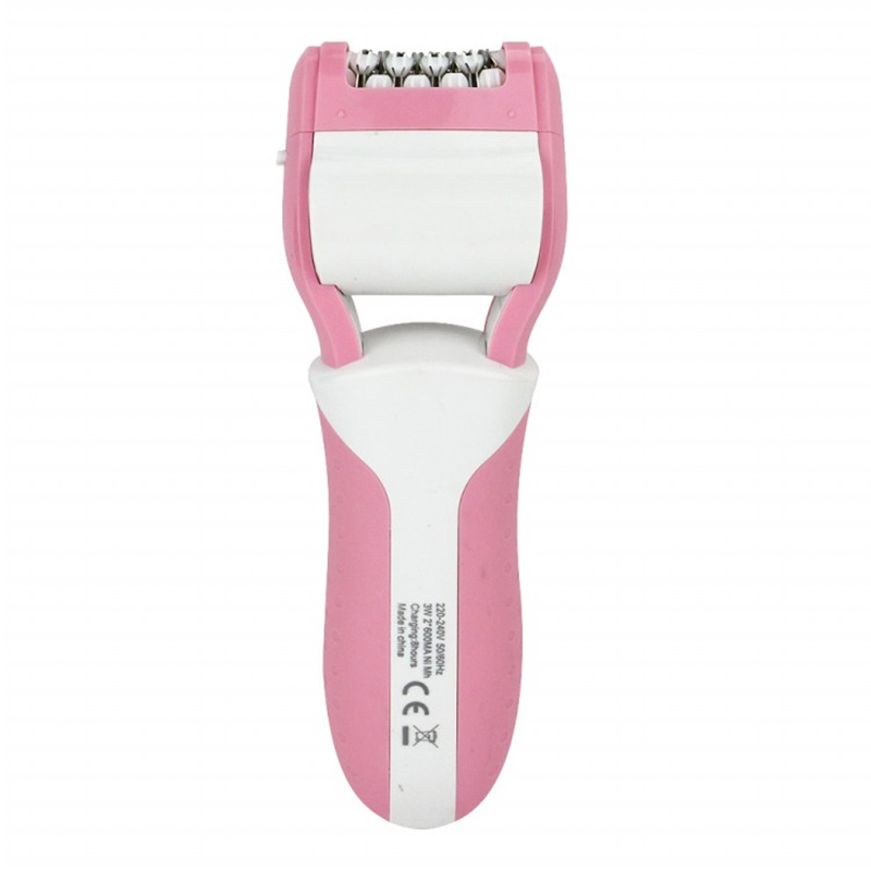 Gemei women 3 in 1 electric shaver hair Callus removal foot care tools epitator