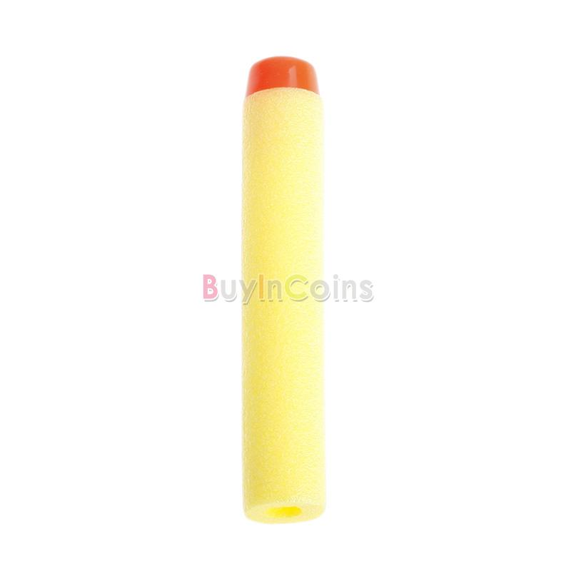10pcs Eva Soft Bullets Darts Blaster Nerf Toy Gun Flexible Colorful