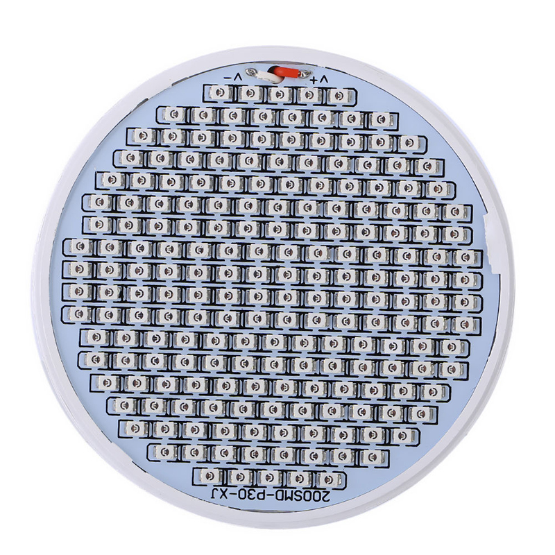E27 200LED Plant Grow Light Red Blue Hydroponic Flower Veg Growing Lamp 24W
