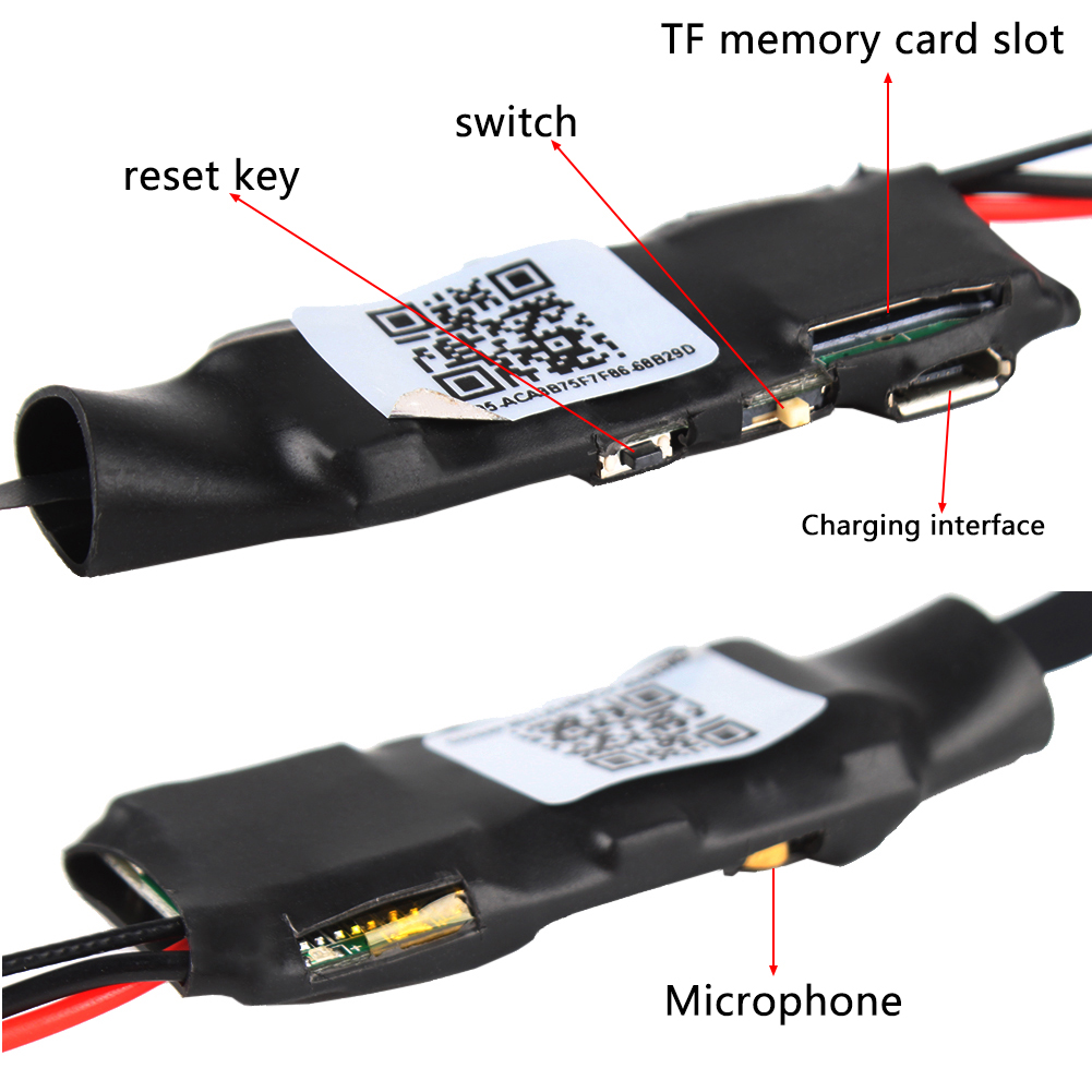 Full HD 1080P Z5S Wireless Wifi Surveillance Lens 140 Degree Camera Module