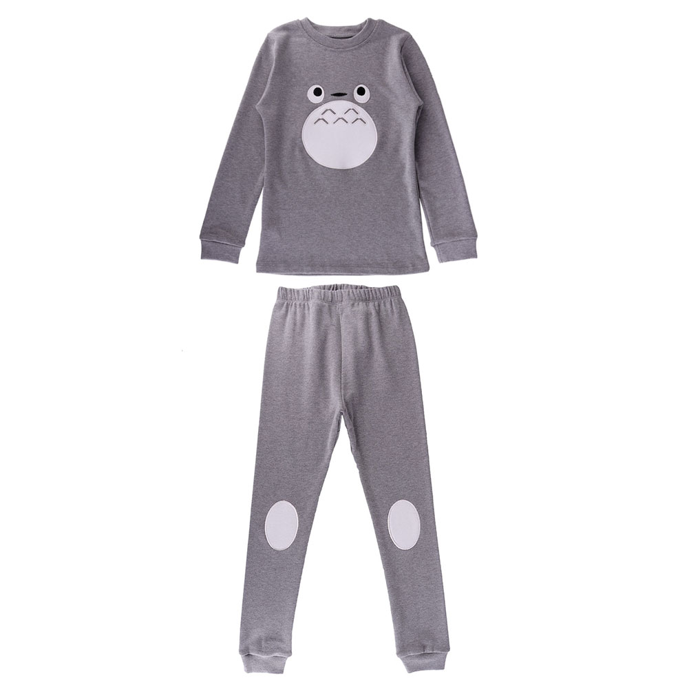 Toddler Homewear Outfits Baby Girls Boys Cartoon Print Pullover Solid Sun Pants Set