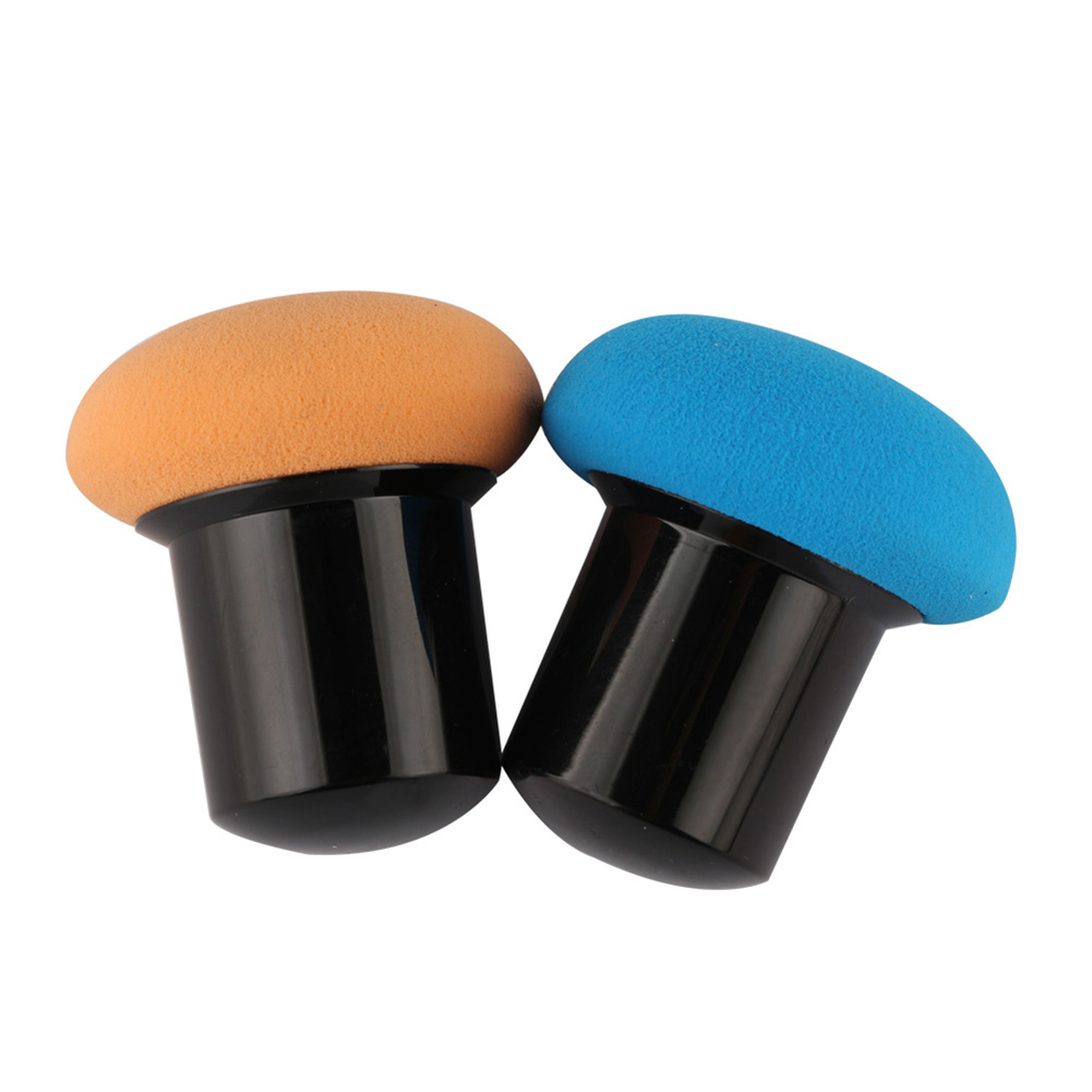 Professional Makeup Sponge Bubble Water Blender Foundation Powder Puff Dry Wet Amphibious Brush Short Handle
