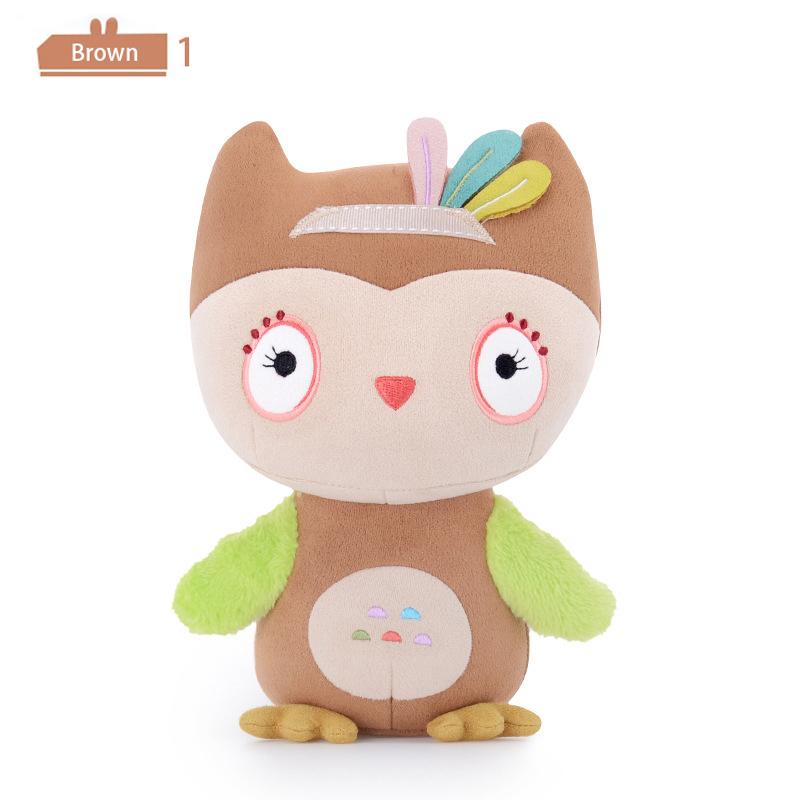 Metoo Cute Cartoon Stuffed Owl Doll Baby Plush Toy Birthday Gift Lovely 22cm