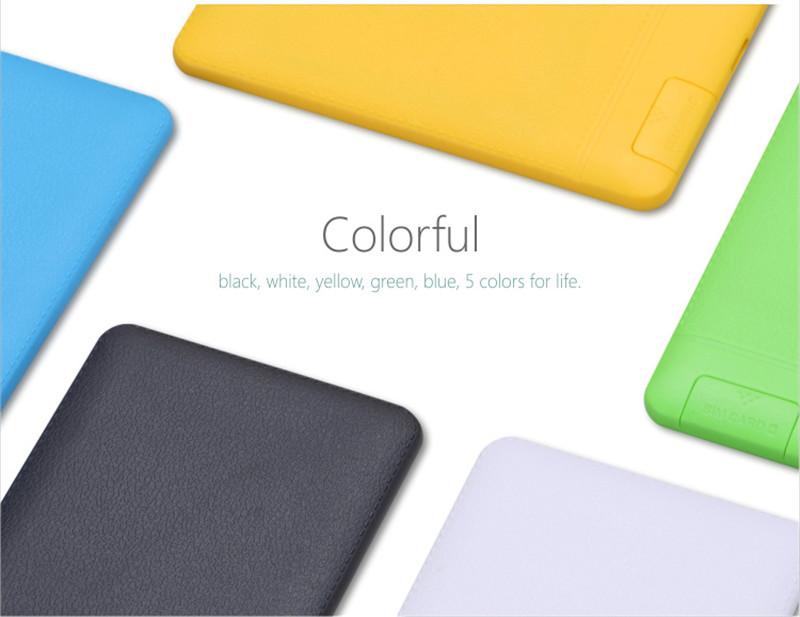 AIEK X6 Ultra Thin OLED Mini Pocket GSM Bluetooth Card Mobile Phone