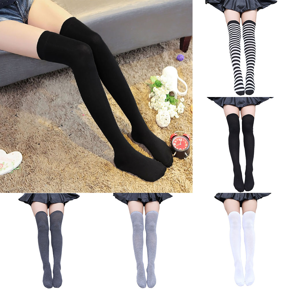 Painted Pig Classic Over The Knee Thigh High Socks For Women And Girls