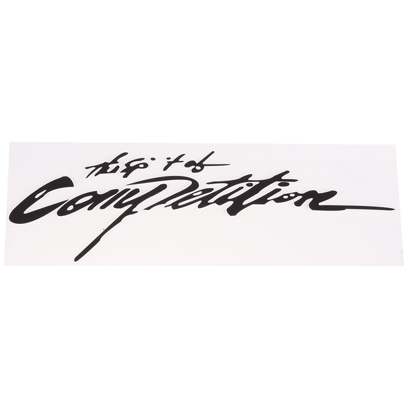 The Spirit Of Competition Car Sticker Styling Decals 3D Carbon Vinyl Classic