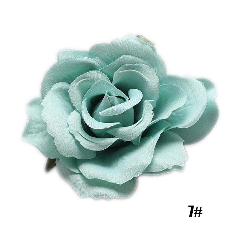 Women Bridal Rose Flower Hair Clip Hairpin Brooch Wedding Bridesmaid Accessories