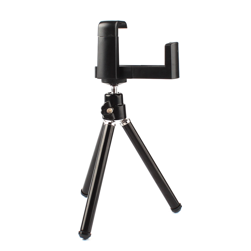 Portable Universal Tripod Mount Stand Holder For Camera Mobile Phone Cellphone