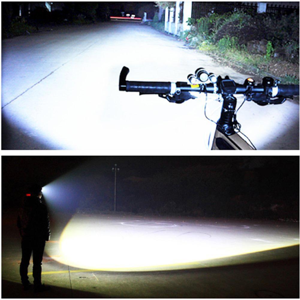 Waterproof LED Headlamps 3 Xm-l T6 4 Modes Outdoor Sports Hiking Riding Fishing Head Flashlight