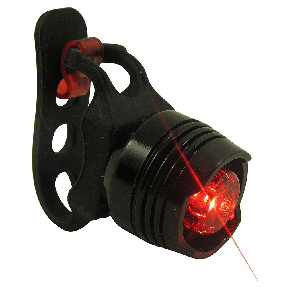 Aluminum Bike Tail Light Waterproof Rear Bike LED Fits ALL Bicycles