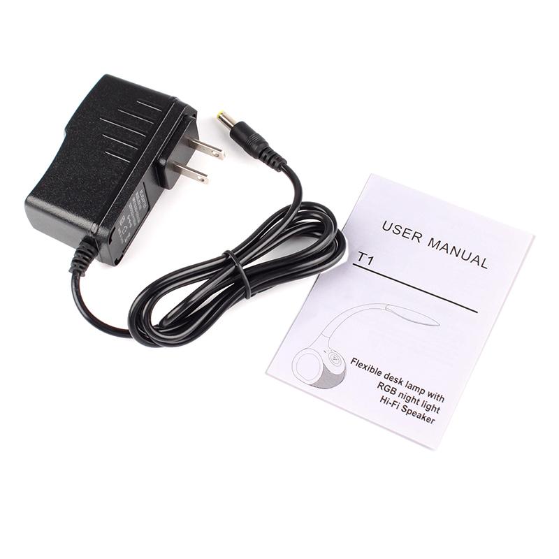 Lamp Bluetooth speakers card subwoofer LED lights Desktop Bluetooth touch-sensitive color stereo speakers