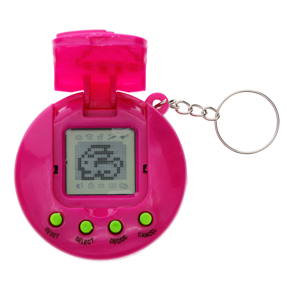 Creative Round 168 Pets in One Virtual Cyber Pet Toy Funny Tamagotchi