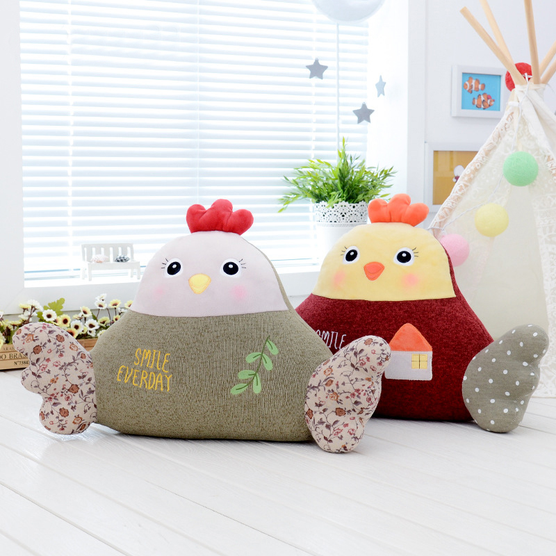 Metoo Stuffed Chicken Plush Doll Toy Cushion Pillow Baby Kid Birthday Christmas Gift