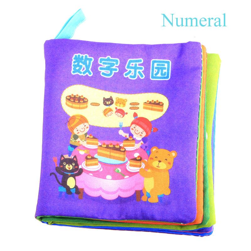Unique Intelligence Development Cloth Cognize Book Educational Toy Kids Baby