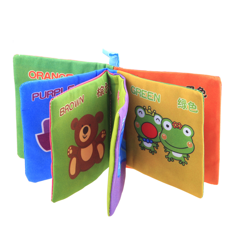 Unique Intelligence Development Cloth Cognize Book Educational Toy Kids Baby