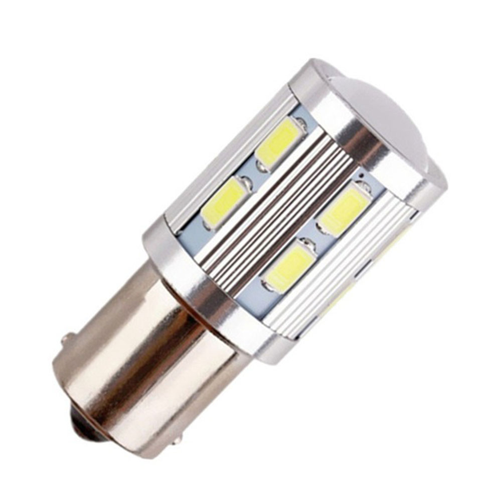 12SMD P21W 5730 Parking Lamp 1156 BA15S Car LED Light Brake Bulbs White