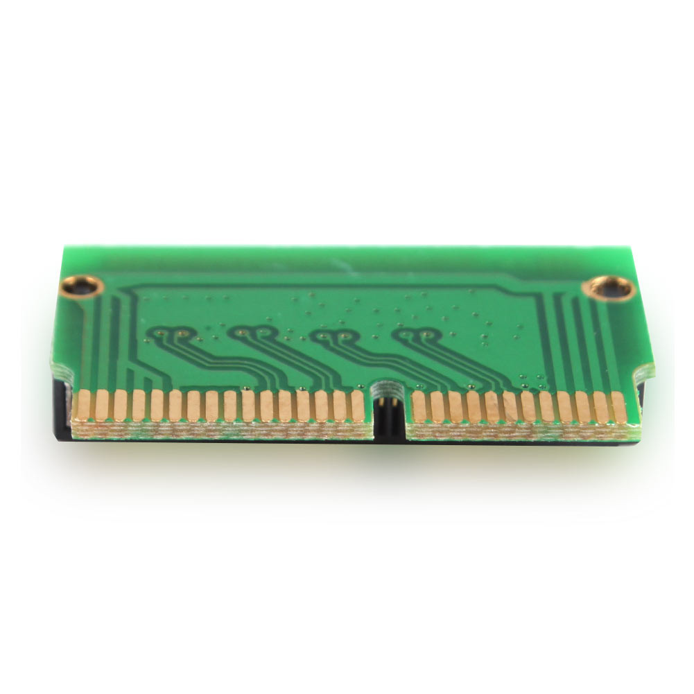 M key M.2 PCI-e AHCI SSD Adapter Card for 2013 2014 2015 MACBOOK Air A1465 A1466 Pro A1398 A1502 A1419 NGFF to MD711 MD712