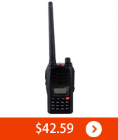 Talkie UHF 400-470MHz 5W 16CH Portable Two-Way Radio Talk Handheld FM New