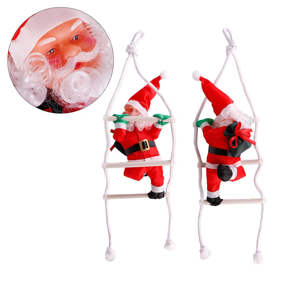 Cute Christmas Santa Claus Doll Christmas Tree Decorations Stairnatal Christmas Home Decoration