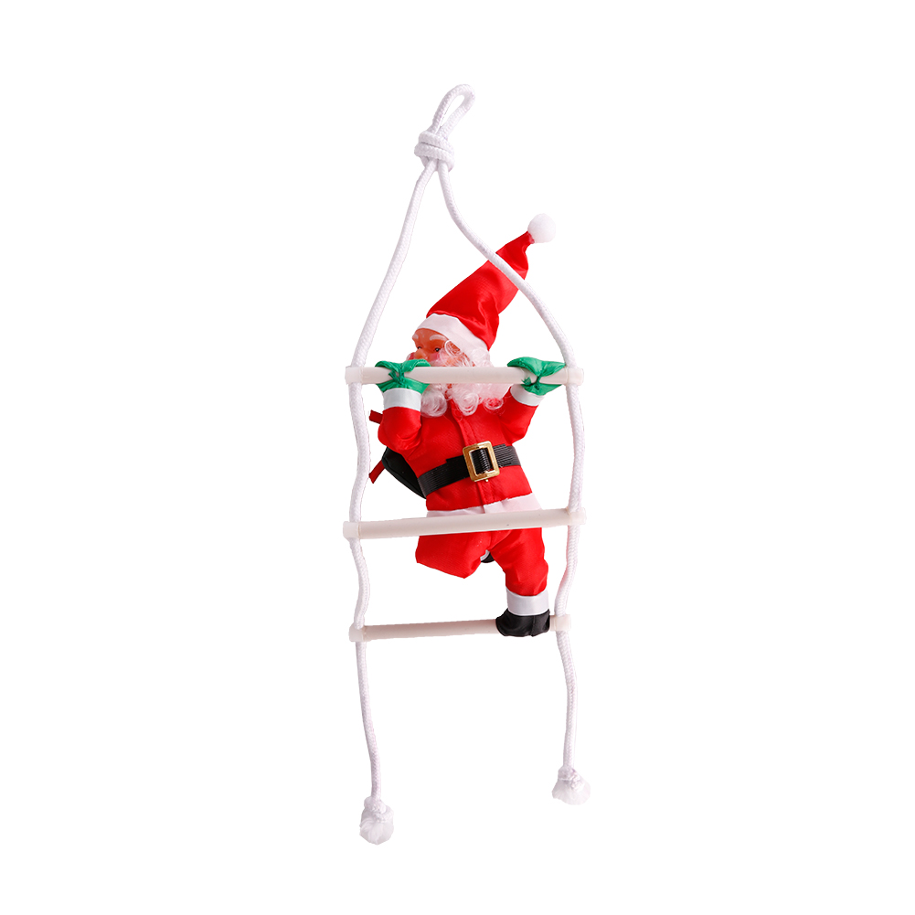 Cute Christmas Santa Claus Doll Christmas Tree Decorations Stairnatal Christmas Home Decoration