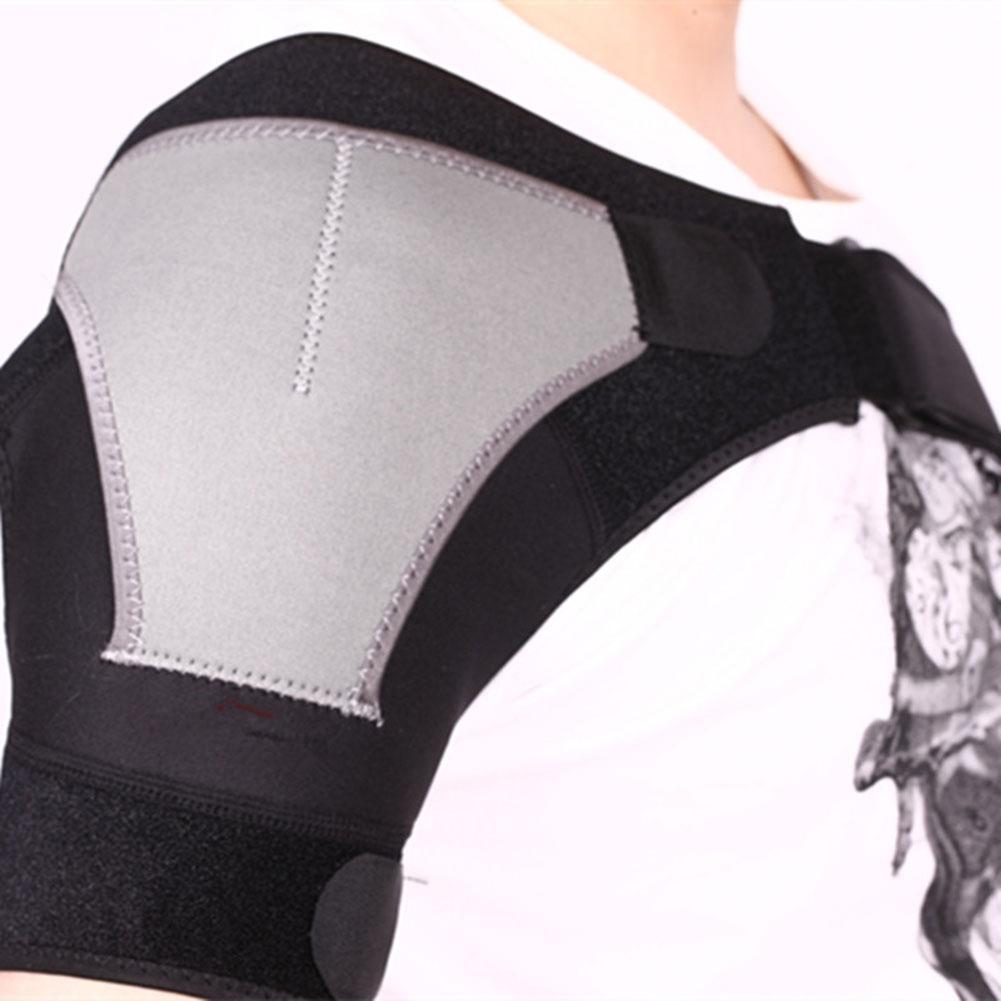 Adjustable Shoulder Support Brace Strap Joint Sport Gym Compression Neoprene Bandage Wrap Protector