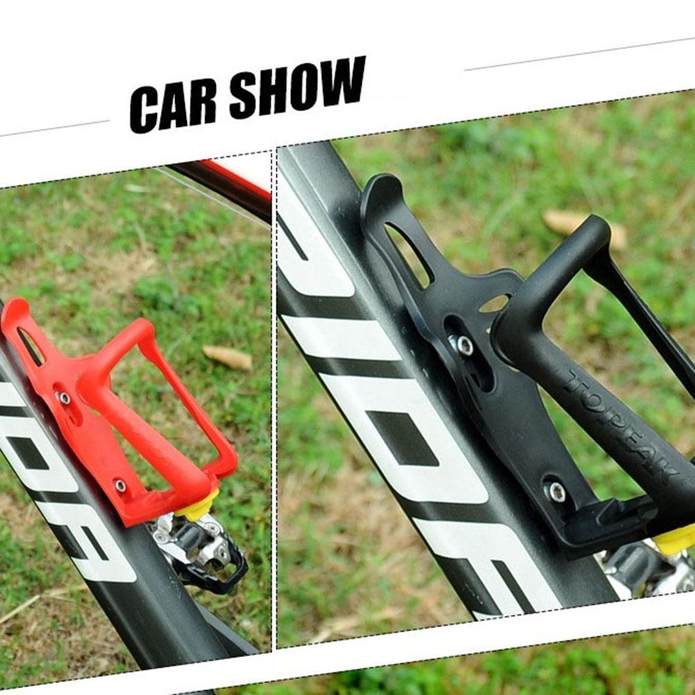 Bike Adjustable Water Bottle Holder Plastic Drink Mount Rack Cage