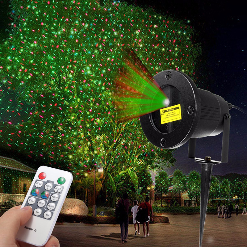 Waterproof Laser Fairy Light Projection Projector Christmas Outdoor Landscape LED Lamp