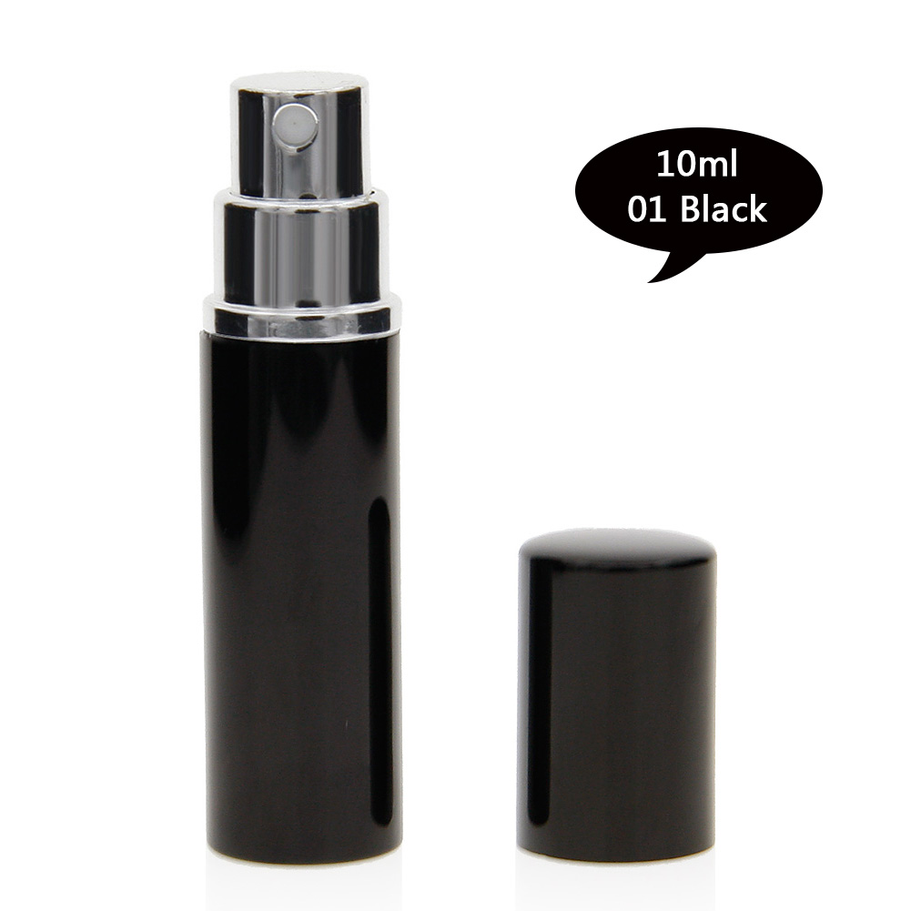 10ml Mini Travel Portable Refillable Perfume Atomizer Bottle Scent Pump Spray Case Empty Cosmetic Containers