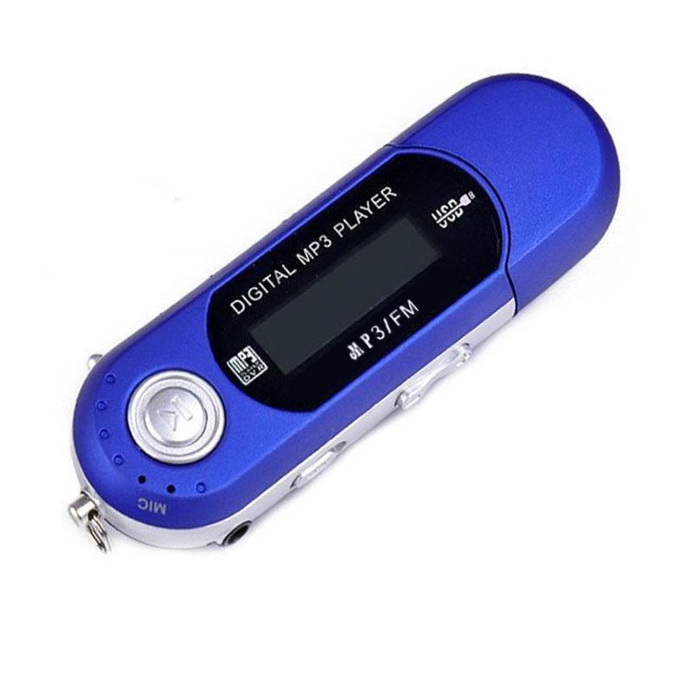 "1.1"" LCD Screen Recording U Disc USB 2.0 Digital MP3 Music Player FM Radio TF Card"