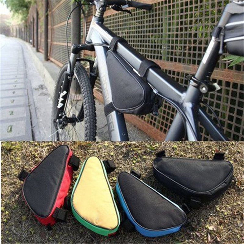 Cycling Bicycle Bike Bag Top Tube Triangle Bag Front Saddle Frame