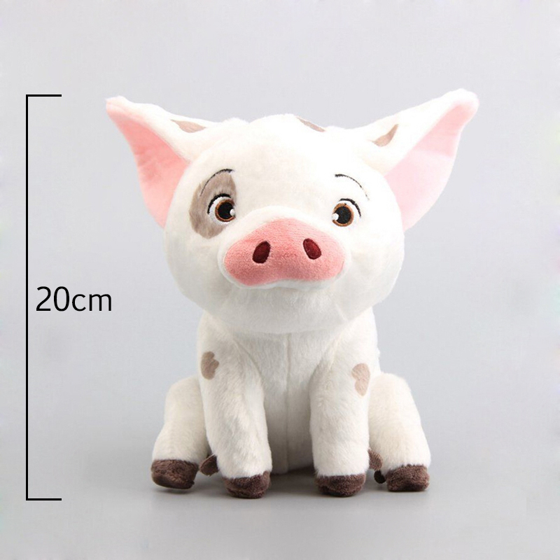 Cute Cartoon Moana Pet Pig Stuffed Animals Plush Toy Dolls Soft