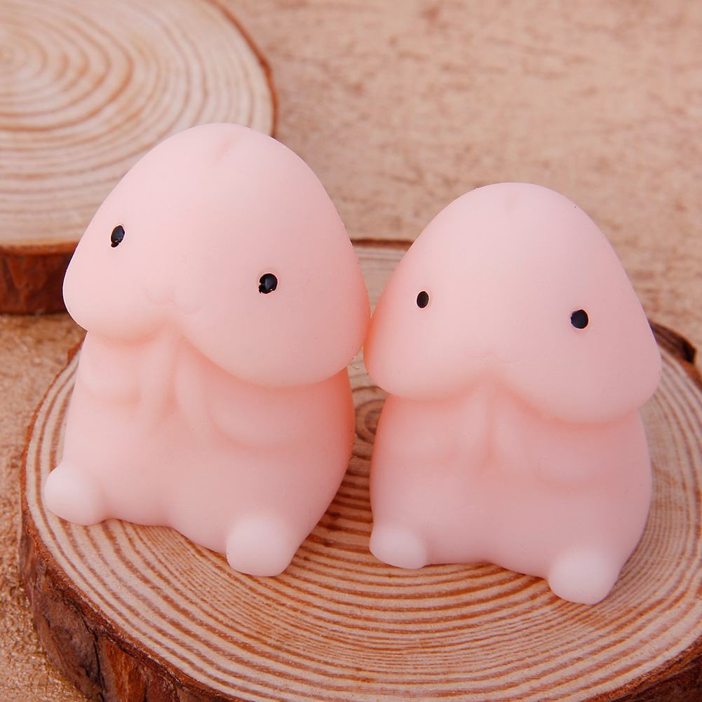 Cute Mochi Dingding Seal Squeeze Toy Focus on Stress Healing Soft Fun Toys