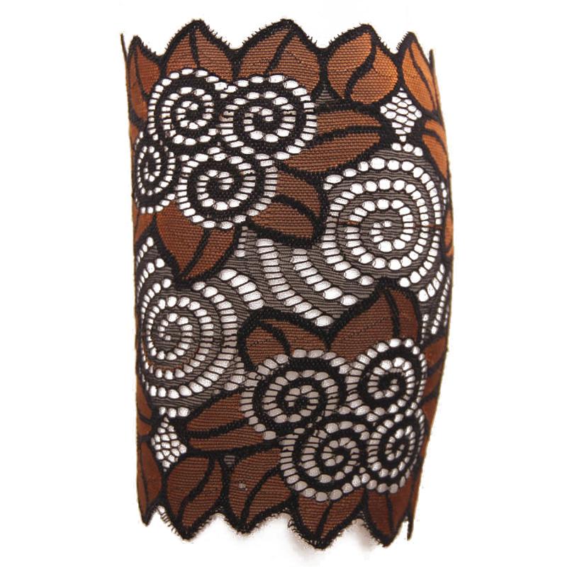 15cm Width Stretch Lace Boot Cuffs Flower Leg Warmers Lace Trim Toppers Socks