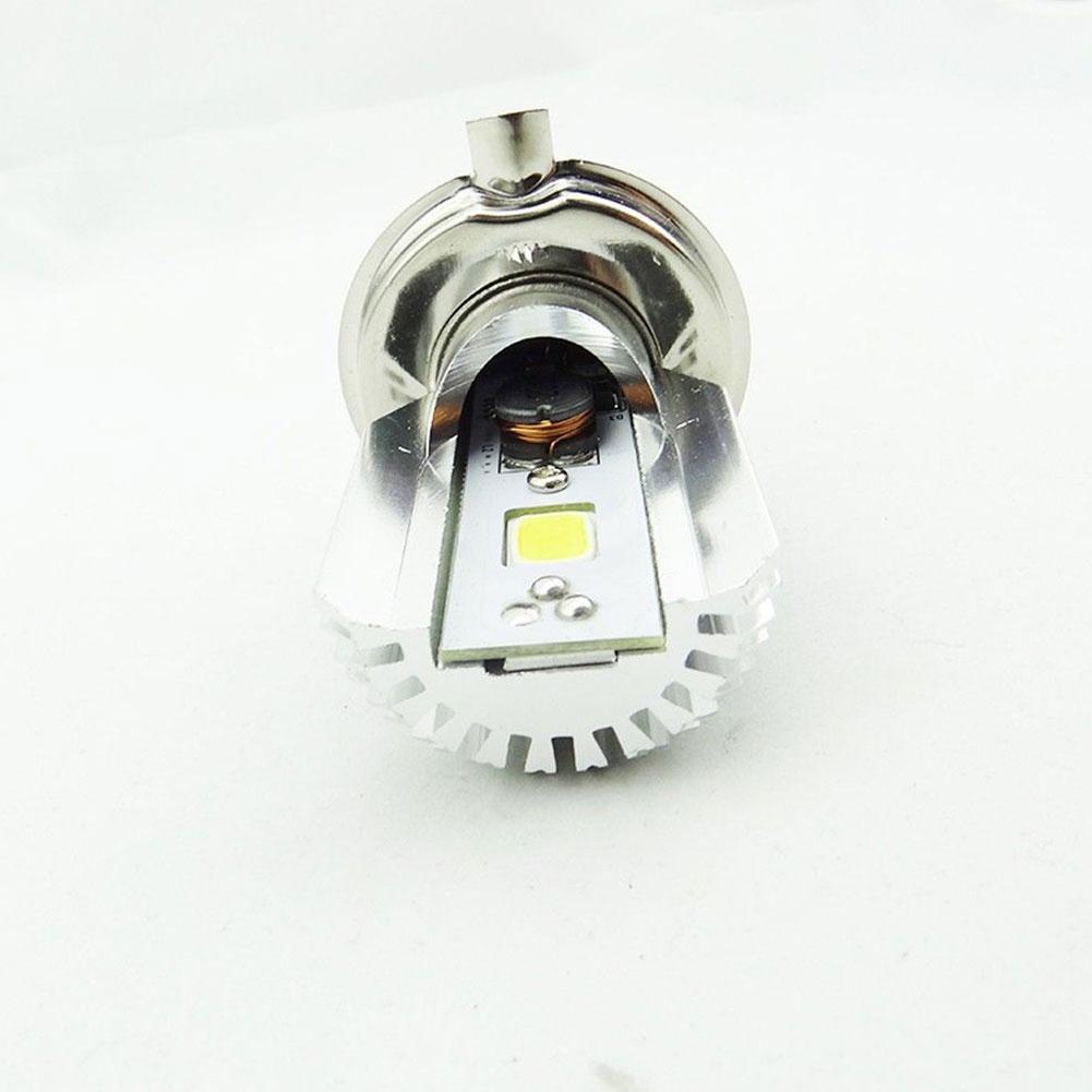 H4 Motorcycle Headlight LED Hi/Lo Dual Motorbike 2500lm Lamp 6500K