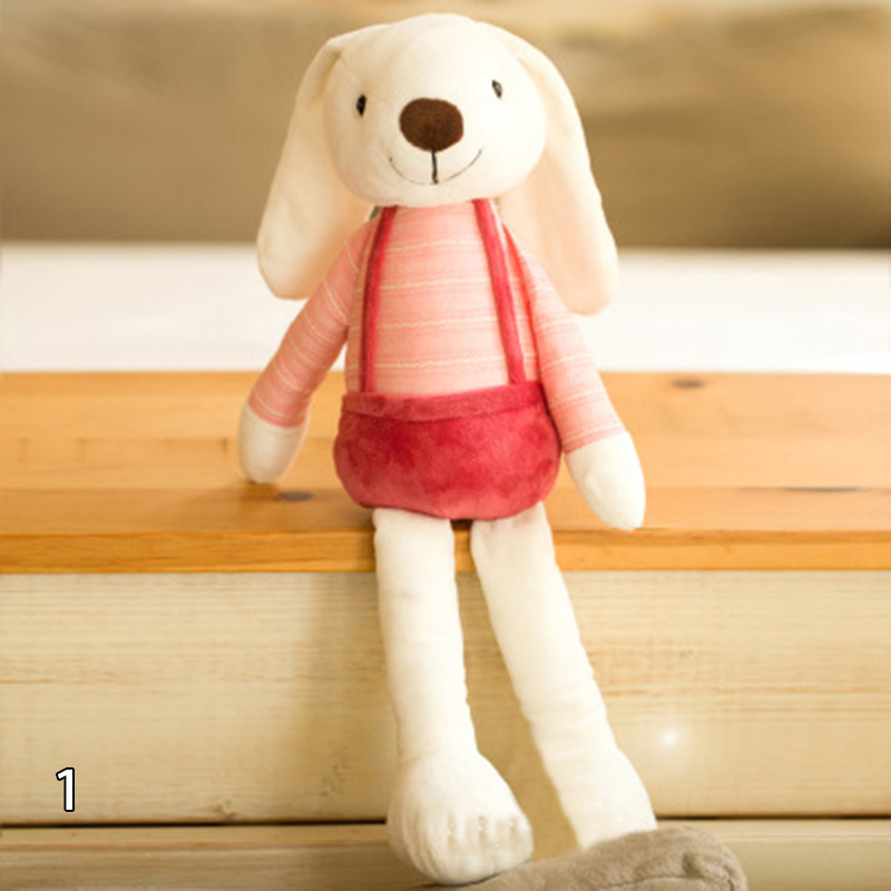 60CM Cute Long Ear Rabbit Plush Toy Stuffed Doll Lover Birthday Gift